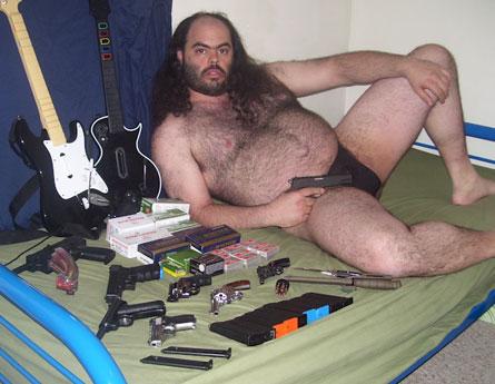 Man loves Gun