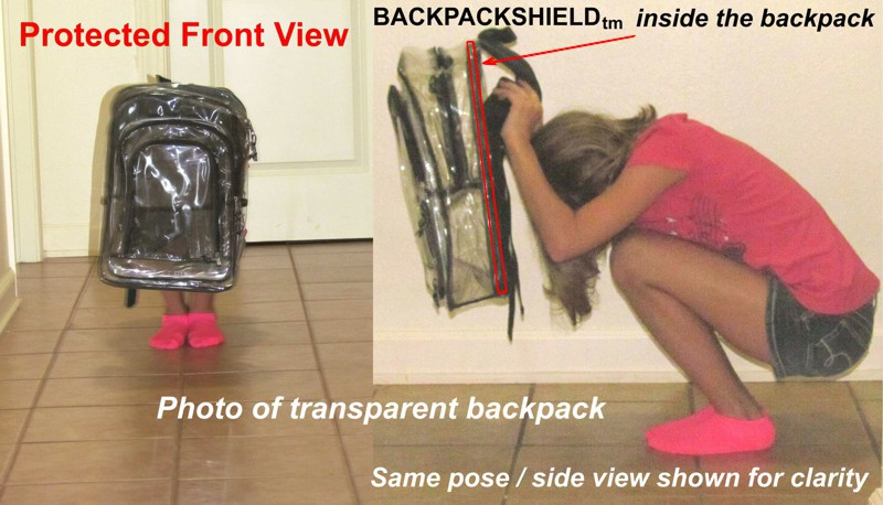 backpack shield