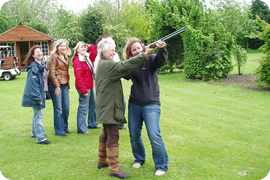 white lodge shooting school